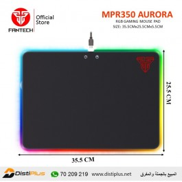 Fantech MPR350 AURORA ABS RGB Gaming Mouse Pad