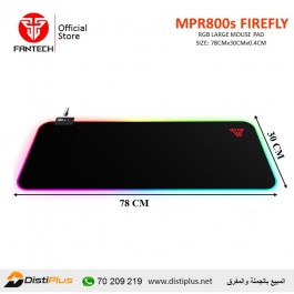 Fantech MPR800s FIREFLY Large RGB Gaming Mouse Pad