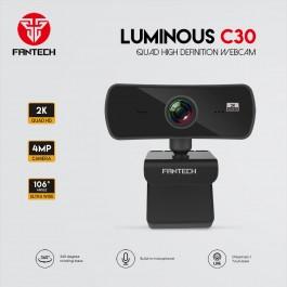 Fantech C30 LUMINOUS 2K Quad high defintion Webcam
