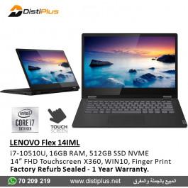 Lenovo Flex-14IML Convertible Laptop 81XG000GUS